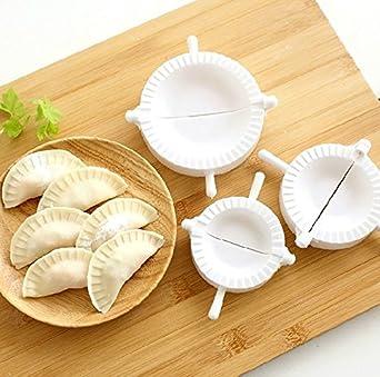 Image Unavailable. Image not available for. Color  3pcs Press Ravioli Dough  Pastry Pie Dumpling Maker Gyoza Empanada Mold Mould Tool ... 344914de2f89