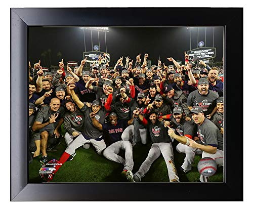 Framed The Boston Red Sox 2018 World Series Champions On The Field Team Photo 8x10 Photo Picture