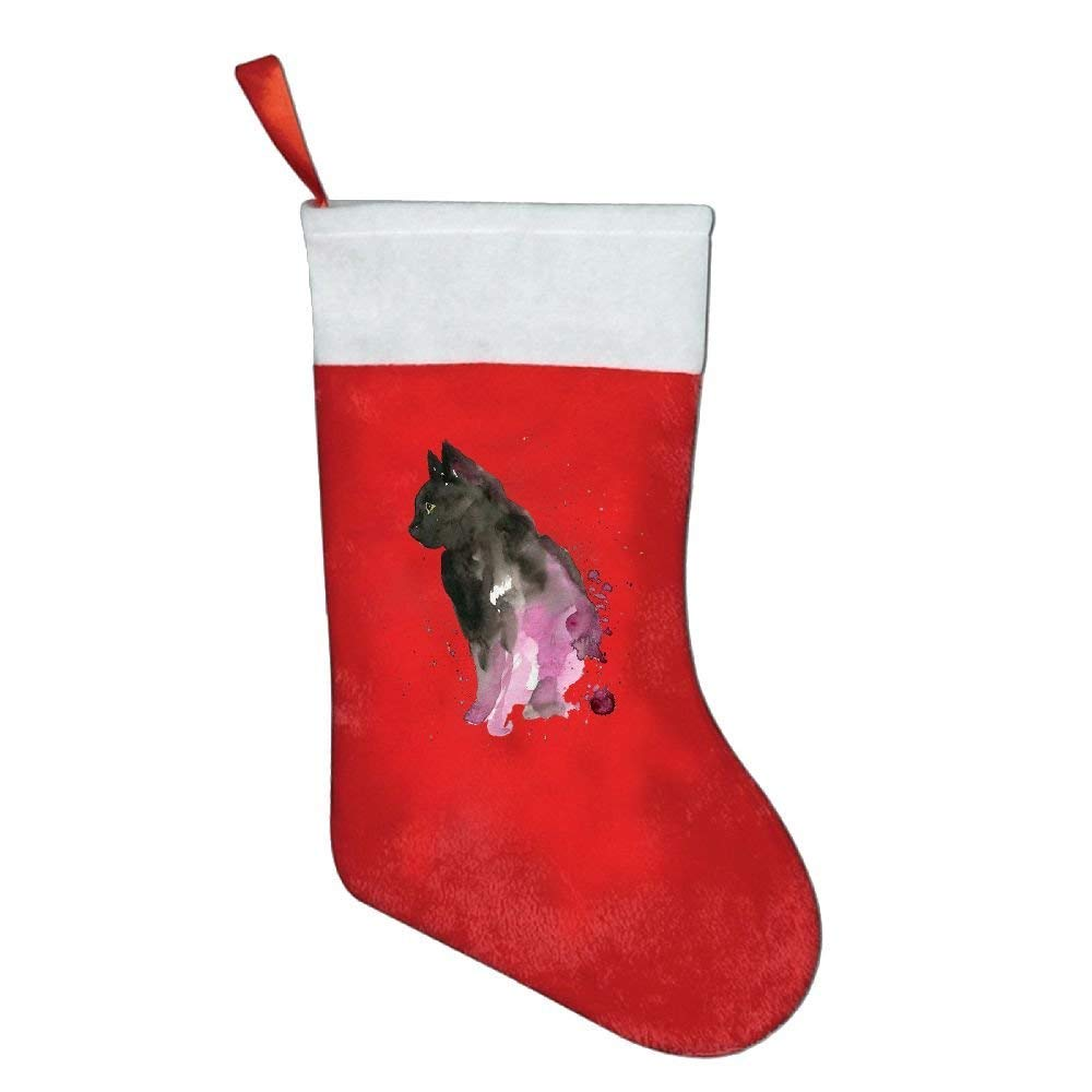 coconice Watercolor Dog Animal Personalized Christmas Stocking