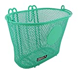 Biria Basket with Hooks, Front, Removable, Children Wire mesh Small Kids Bicycle Basket. Can be Used with Your Custom Design Markers or Stickers, New