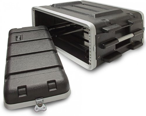 Stagg ABS-4U Case for 4-Unit Rack - Black by Stagg