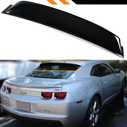 Cuztom Tuning For 2010-2016 Chevy Camaro 5th Generation Rear Windshield Window Roof Visor Spoiler Wing ()