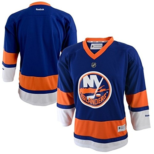 fan products of New York Islanders NHL Youth Size Team Jersey - Blue (Youth L/XL)