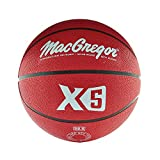MacGregor Intermediate Size Basketball, Red