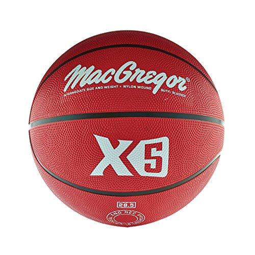 MacGregor Intermediate Size Basketball, Red -  Sport Supply Group, Inc., MCBBX518