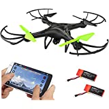Udirc Petrel U42W 2.4Ghz Wifi FPV Drone Headless RC Quadcopter with HD Camera