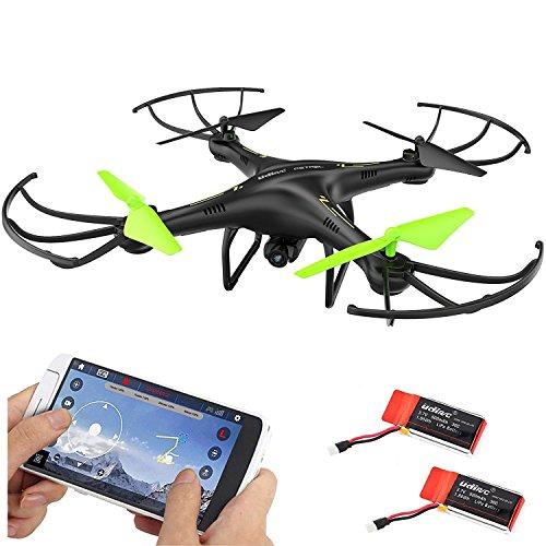 Udirc Petrel U42W 2.4Ghz Wifi FPV Drone Headless RC Quadcopter with HD Camera