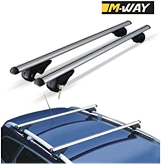 M-Way nnrb1045.33 Aero – Barras de Techo de Aluminio Rack Cruz,