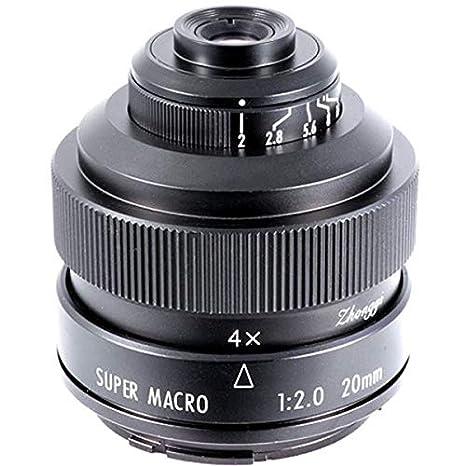 Mitakon Zhongyi 20 mm f/2 Super Macro para Nikon para cámaras ...
