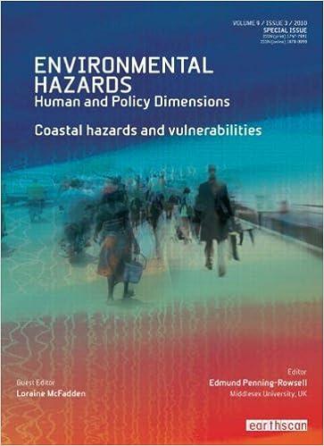 Download online Coastal Hazards and Vulnerability (Environmental Hazards Series) PDF, azw (Kindle), ePub