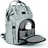 Mini Me Diaper Bag Backpack for Baby - Multi-Functional Maternity Nappy Bags - Durable and Stylish, Large Capacity Organizer Tote, Stroller Straps, Insulated Pockets, Wipe Holder, Bonus Changing Pad