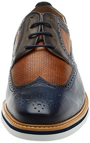 Stringate Scarpe Oxford Blu Pikolinos Uomo Toulouse Nautic M7l qHEZwtC
