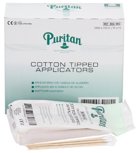 Cotton Tipped Applicators (Pac-Kit by First Aid Only 25-450 Cotton Tipped Applicator with 6