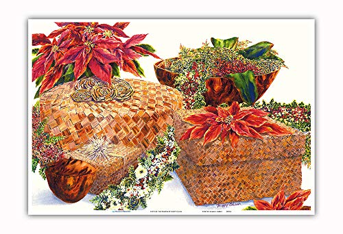 Pacifica Island Art - Gifts The Season - Hawaiian Poinsettias