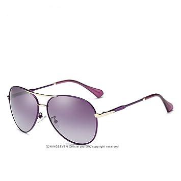 CCGSDJ Nuevas Gafas De Sol De Piloto para Mujeres Diseñador ...
