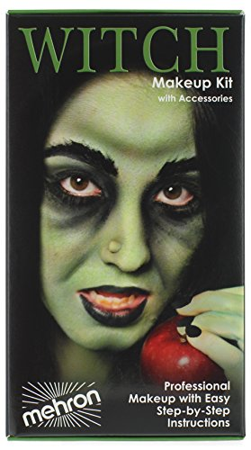 Mehron Makeup Premium Character Kit (Witch Faces Makeup Halloween)