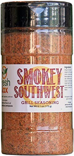 Chicken Style Southwest - FreshJax Gourmet Spices and Seasonings (Organic Smokey Southwest: Grill Seasoning) 6.1oz