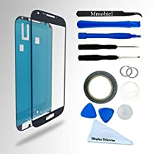 SAMSUNG GALAXY S4 i9500 i9505 I337 M919 BLACK DISPLAY TOUCHSCREEN REPLACEMENT KIT 12 PIECES INCLUDING 1 REPLACEMENT FRONT GLASS FOR SAMSUNG GALAXY S4 / 1 PAIR OF TWEEZERS / 1 ROLL OF 2MM ADHESIVE TAPE / 1 TOOL KIT / 1 MICROFIBER CLEANING CLOTH / WIRE