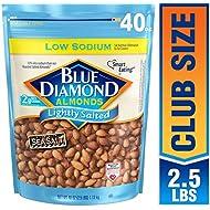Blue Diamond Almonds Low Sodium Lightly Salted, 40 oz
