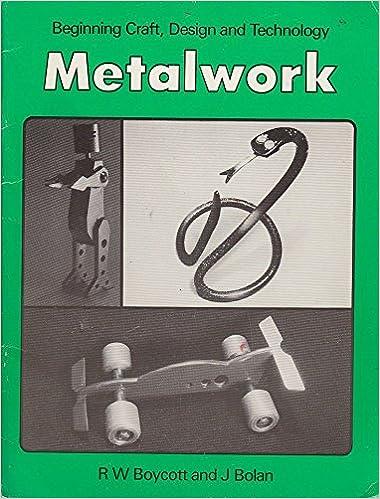 Metalwork Beginning Craft Design And Technology Series Beginning