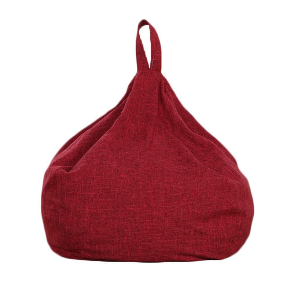 Ven a elegir tu propio estilo deportivo. rojo CAIJUN Puffs Pera Algodón Lino Lino Lino Multifuncional Ergonomía Diseño De La Manija Portátil Cómodo Salud No Tóxico Regalo, 8 Colors (Color   marrón, Tamaño   70x80cm) 55x60cm  oferta especial
