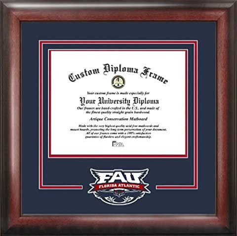Florida Atlantic University Spirit Diploma Frame - University Spirit Diploma Frame