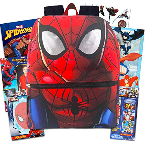 Marvel Spiderman Backpack Set Toddler Preschool -- 11