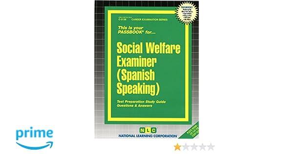 social welfare examiner spanish speaking passbooks spanish rh amazon com Test Examiner Cartoon Character Driving Test Examiners