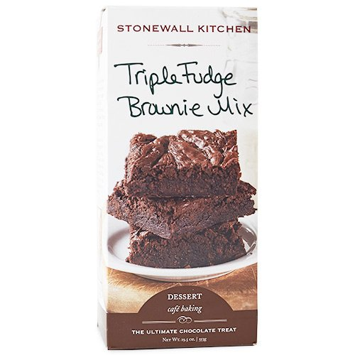 Stonewall Kitchen Triple Fudge Brownie Mix, 19.5 oz