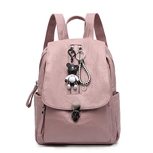de décontracté souple main femmes Sac à PU à cuir de mode sac en sac multifonctionnel 30cm 26 dos 15 EEqPFz