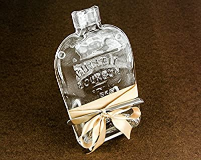 Bulleit Rye Whiskey Flattened Bottle Cheese Board with Cheese Spreader