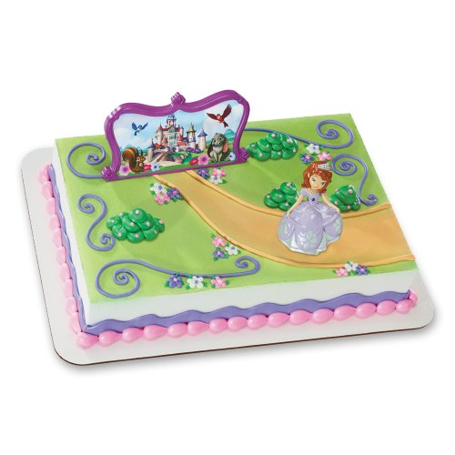 Price comparison product image Decopac Sofia The First Sofia and Castle DecoSet Cake Topper