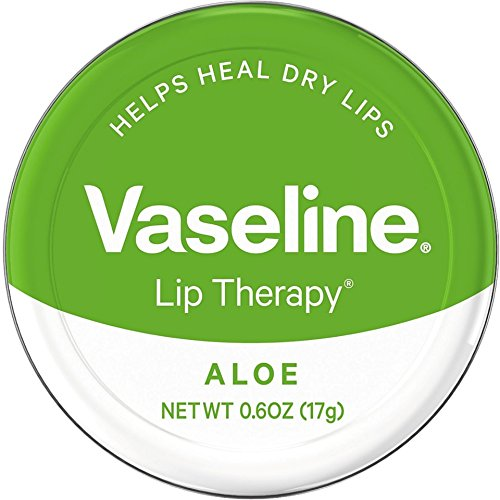 Lip Therapy Aloe (Vaseline Therapy Lip Balm, Aloe Vera 0.6 oz (Pack of 4))