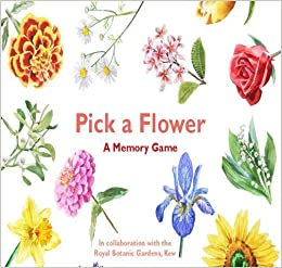 Pick a Flower: A Memory Game: Gina Fullerlove (author), Marcel