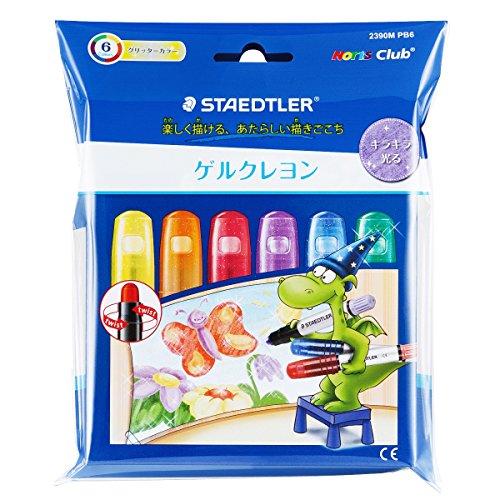 Staedtler gel crayon Norris club 2390M PB6 glitter color (Staedtler Crayons)