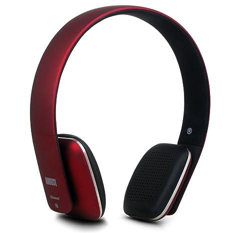 August EP636 – Cuffie stereo Senza Fili Bluetooth NFC Over-Ear – Auricolari  con Microfono 3fe5cbf343fe