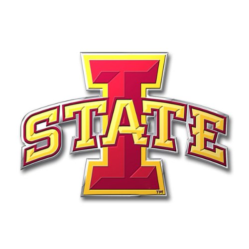 NCAA Iowa State Cyclones Die Cut Color Auto (Iowa State Cyclones Collectibles)