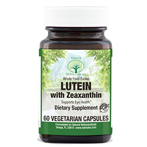 Lutein with Zeaxanthin Supplement by Natural Nutra, Whole Food Formula, Soy Free, Vegan and Vegetarian, 20mg, 60 Capsules For Sale