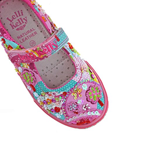 Multi Shoes 11 BX02 29 UK Patchwork Kelly Dolly Lelli LK5056 Cx7wRSptOq