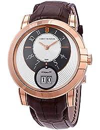 Harry Winston Midnight Automatic Silver Dial Men's Watch MIDABD42RR001