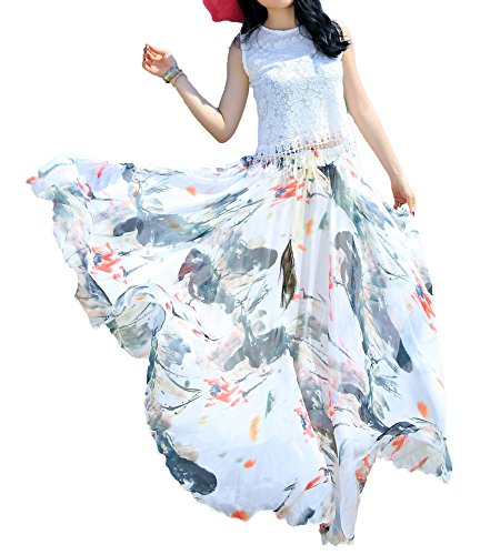 Afibi Women Length Blending Chiffon