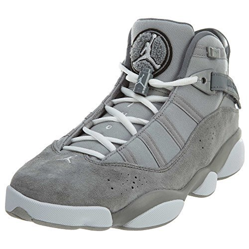 Jordan 6 RINGS mens fashion-sneakers 322992-014_9.5 - Matte Silver/White-cool Grey by Jordan