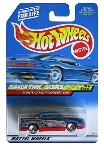 Monte Carlo Concept Car - Snack Time Series #3 Monte Carlo Concept Car #2000-15 Collectible Collector Car Mattel Hot Wheels 1:64 Scale