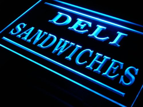 ADV PRO j275-b Deli Sandwiches Cafe Shop Bar Pub Neon Light Sig by AdvPro Sign (Sandwiches Led Sign)