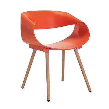 CKH Chaise De Designer Crative Minimaliste Moderne Pour Discuter La Table Et En Bois
