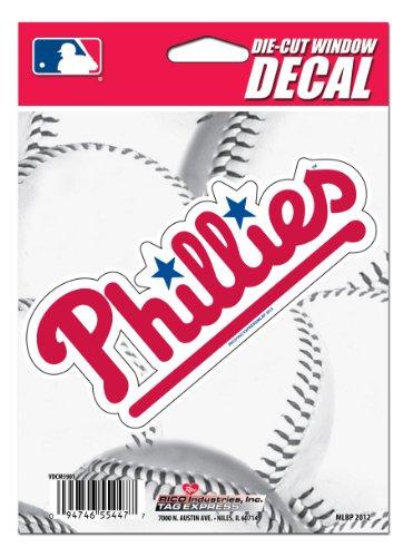 MLB Philadelphia Phillies Die-Cut Window Decal