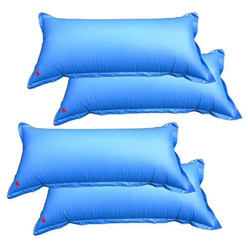 - Pool Mate 1-3748-04 Heavy-Duty 4-foot x 8-foot Winterizing Air Pillow for Above Ground Swimming Pools, 4-Pack