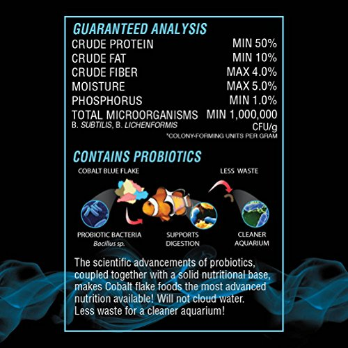 Product image of Cobalt Aquatics Marine Vegi Flake, 5 oz