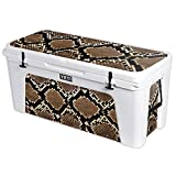 MightySkins Protective Vinyl Skin Decal for YETI Tundra 160 qt Cooler wrap Cover Sticker Skins Rattler