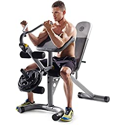 Gold\'s Gym XRS 20 Olympic Workout Bench (Without Rack)